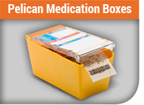 Medication Boxes | Pelican Medication Systems | Langley BC Canada