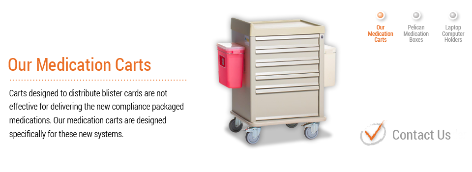 Medication Carts | Pelican Medication Systems